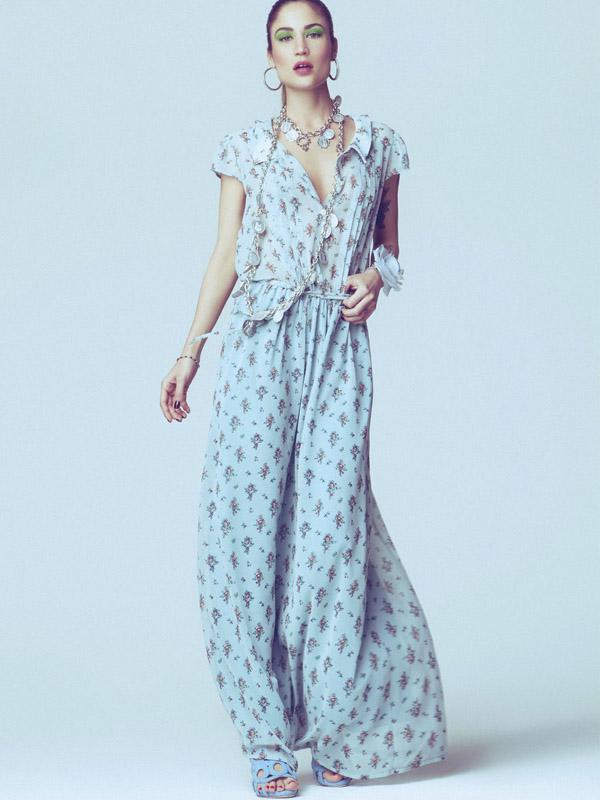 4b9c8414e44 Модные летние платья в пол от Denny Rose 2014 - магазин женской одежды