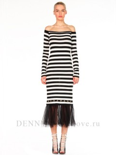 Платье Denny Rose art. 811DD10032 nero