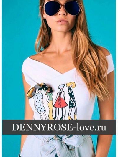 Футболка Denny Rose art. 011DD60032